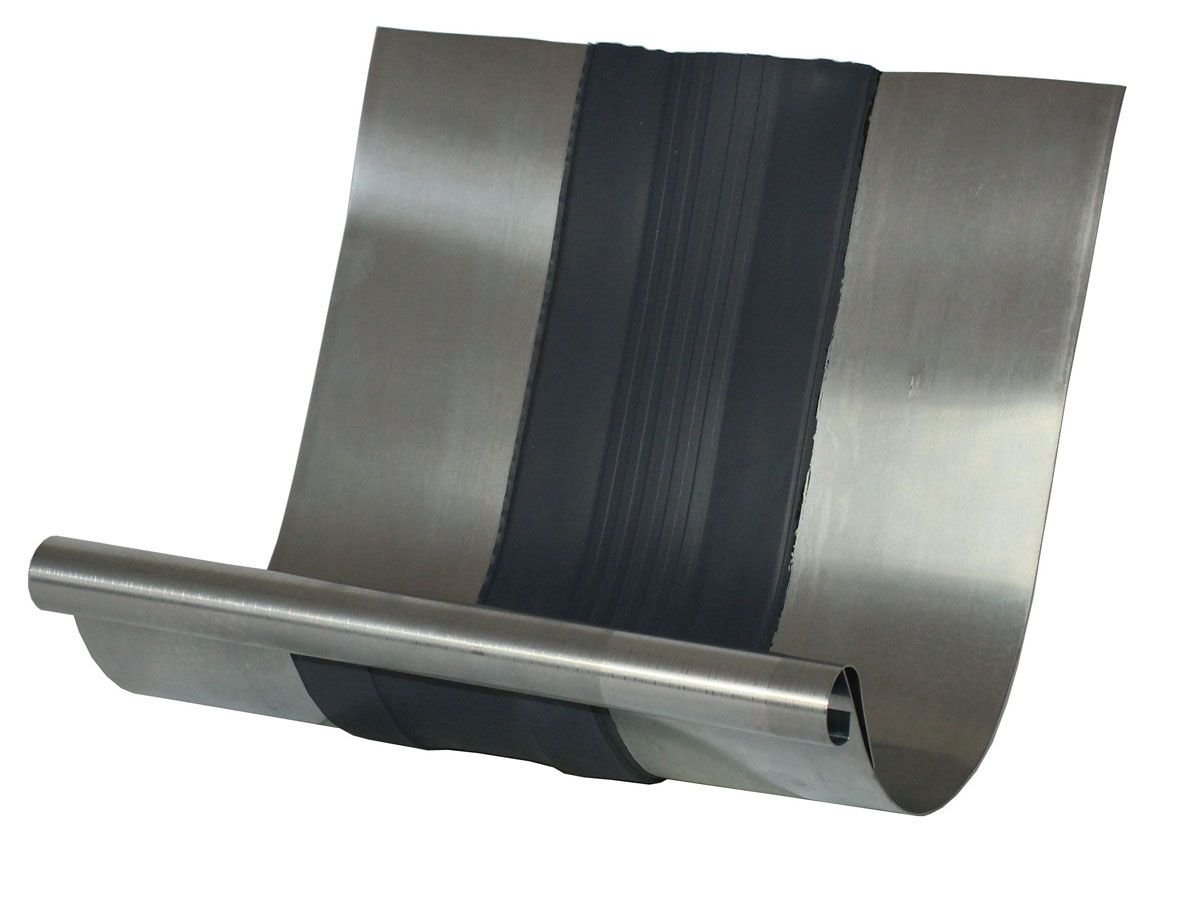 titan-zink rinnendehner, rinnendila 300 mm lang passend für
