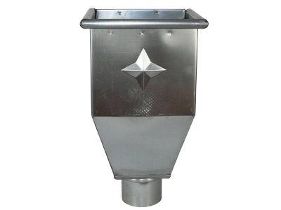 Wasserfangkasten aus Zink