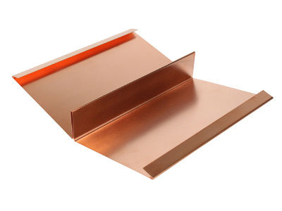 Kehlblech aus Kupfer