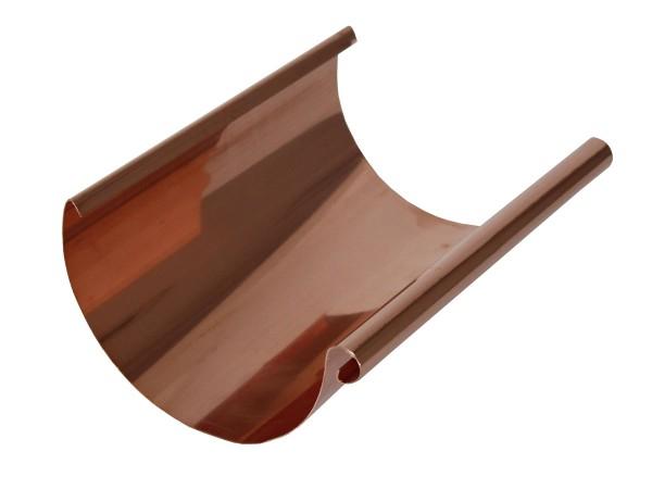 Kupfer Dachrinne halbrund