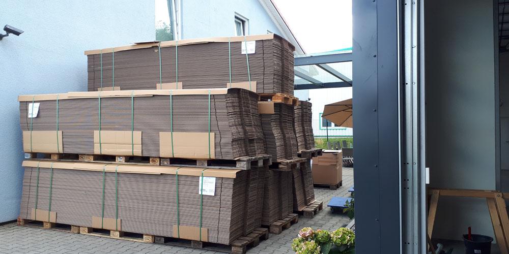 nachhaltige Verpackung: Pappkartons