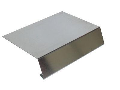 Traufblech aus Aluminium
