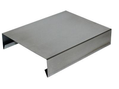 Attikaabdeckung Aluminium
