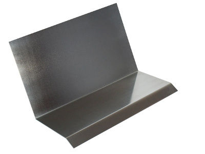Schürzblech aus Aluminium