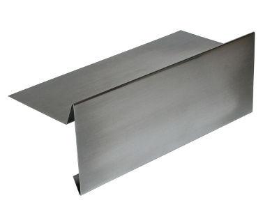Ortgangblech aus Aluminium
