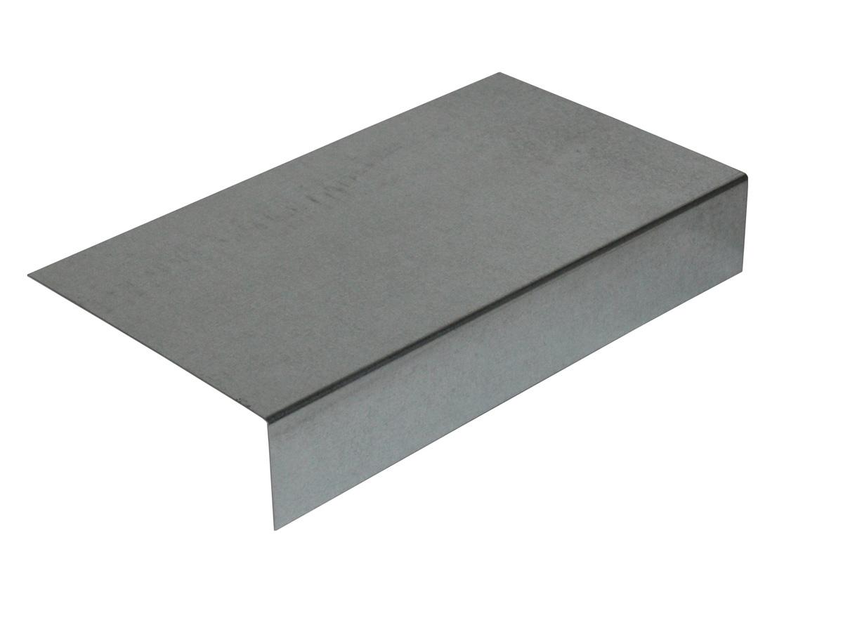 Länge 2 Meter Dachrandprofil Aus Aluminium Zuschnitt 200 Mm