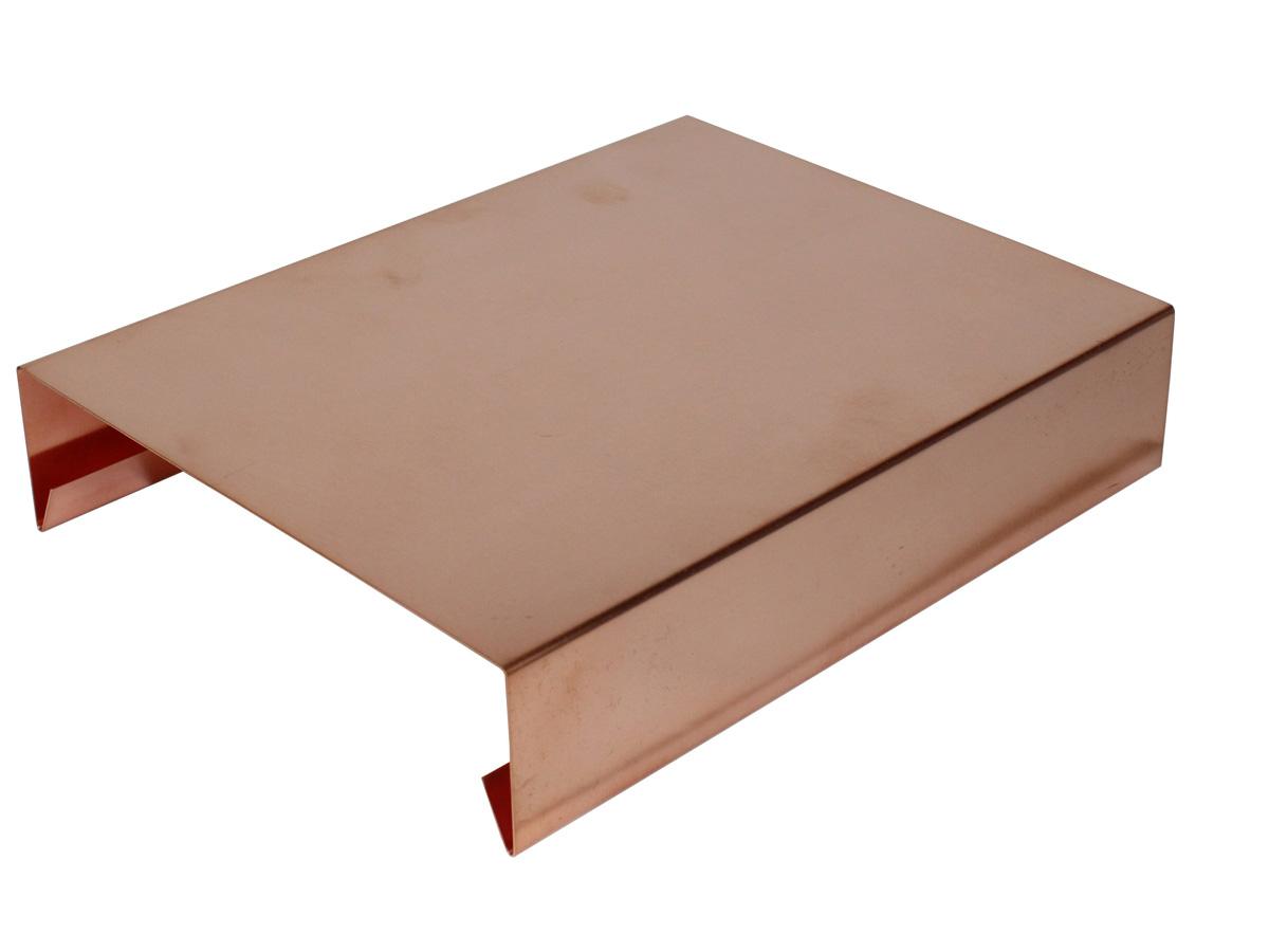Ortgangbleche Mauerabdeckungen Dachbleche Aus Kupfer Kaufen Bei