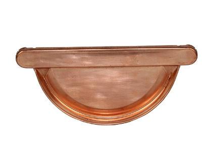 Rinnenboden aus Kupfer