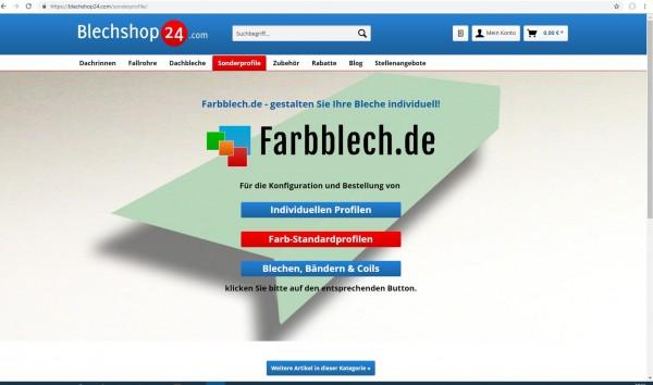 Farbblech