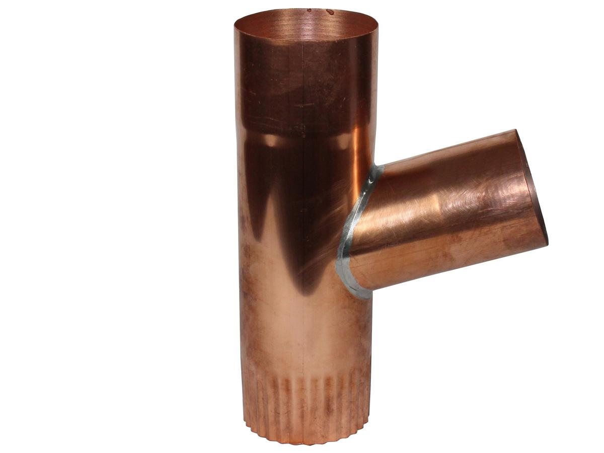 Fallrohrabzweige aus Kupfer